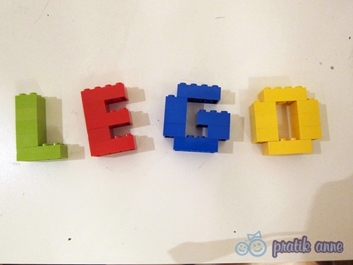 Lego dağınıklığına çözüm
