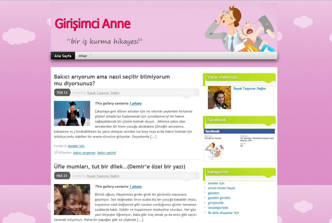 Girişimci Anneler - Girişimci Anne.com