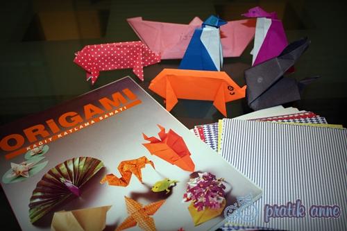 Çocuklarla Sanat – Origami