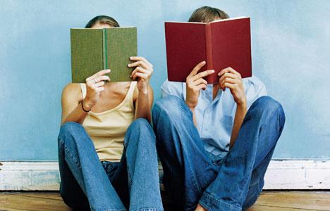 Ben kitap okurken