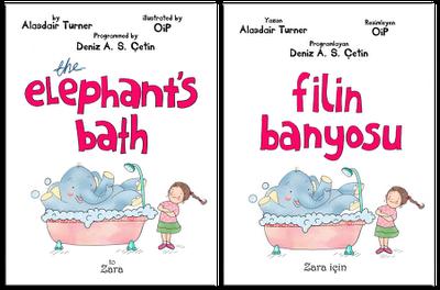 Filin Banyosu - Akıllı telefonlar ve iPad için interaktif çocuk kitabı