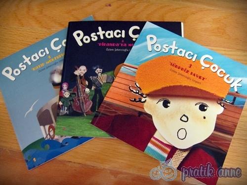 Kitap Değerlendirme – Postacı Çocuk Kitapları Serisi