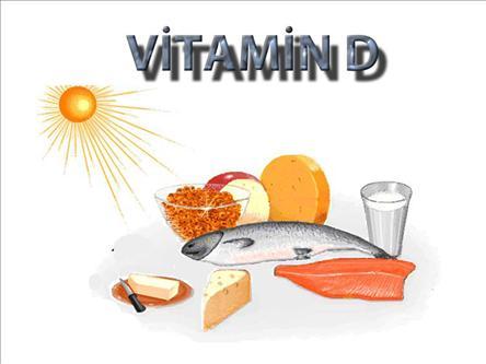 Kış aylarında D vitamini takviyesi
