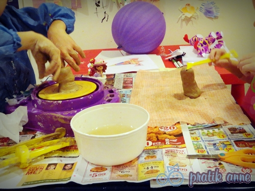 Çocuklarla Seramik Çanak Çömlek Çalışması