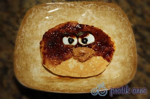 Çocuklar için Angry Birds temalı kahvaltılıklar