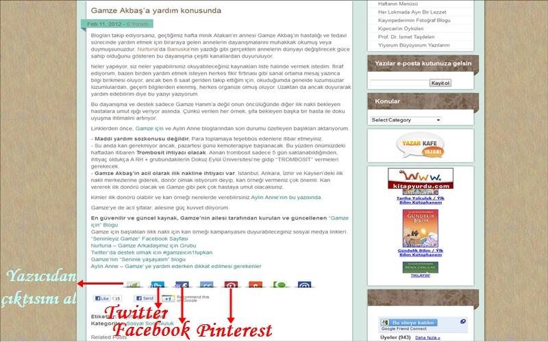 PratikAnne.com yazılarını sosyal medyada paylaşmak çok pratik