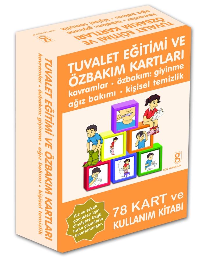 Hediye Ürün – Tuvalet Eğitimi ve Özbakım Kartları