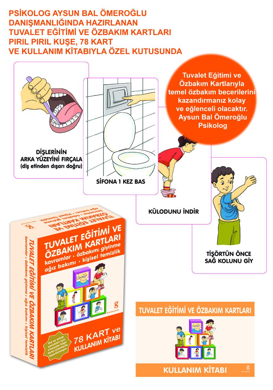 Hediye Ürün - Tuvalet Eğitimi ve Özbakım Kartları