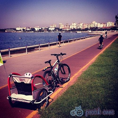 Kiralık bisiklet ile Fenerbahçe sahil turu
