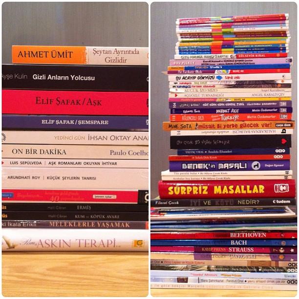 Bu senenin Türkçe çocuk kitapları alışverişi
