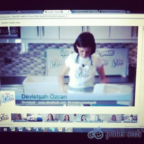 Ülker İçim'in Annelerle Google + Hangout Deneyimi