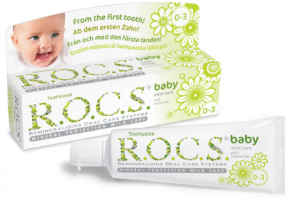 R.O.C.S'tan Bebek/Çocuk Diş Bakım Seti Hediye