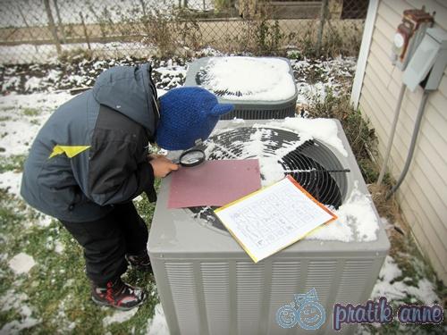 Çocuklarla Kış Eğlencesi: Kar kristallerini inceleme